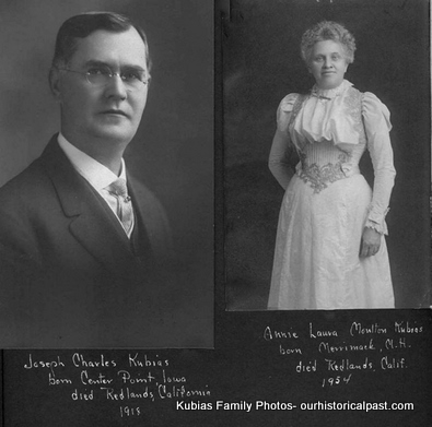 Joseph Charles Kubias and Annie Laurie Moulton